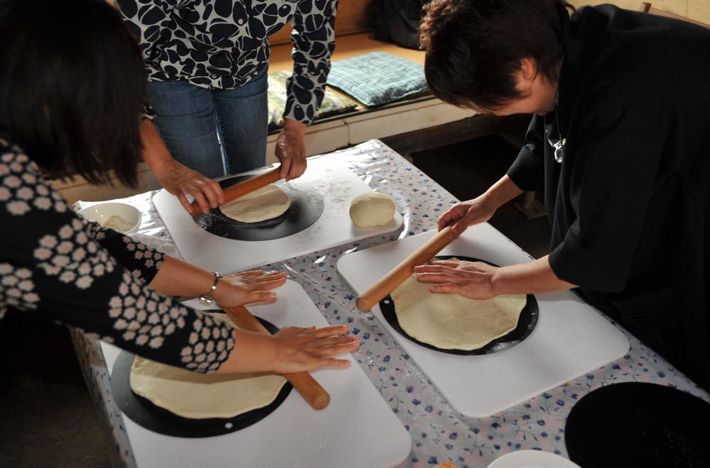 オリジナル「ピザ作り」体験!1