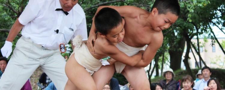大ノ里杯少年相撲大会