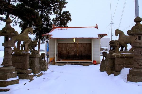 徳下八幡宮・イチイの古木2