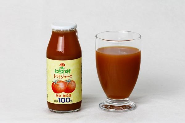 ときわ館のトマトジュース
