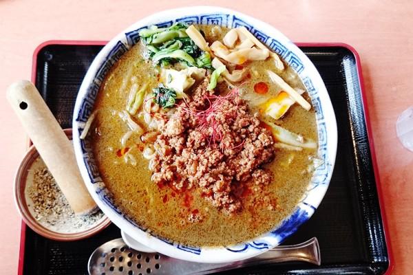 幡龍 藤崎店の坦坦麺
